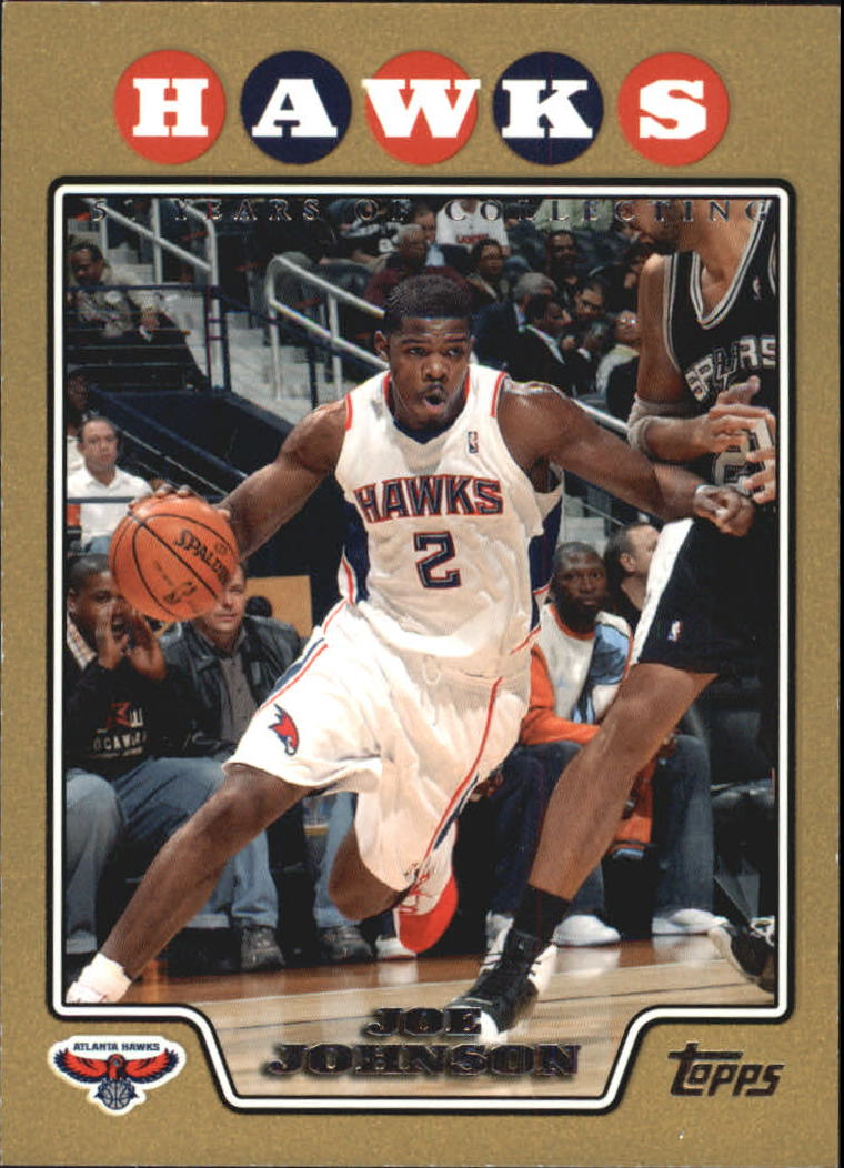 2008-09 Topps Gold Border #2 Joe Johnson