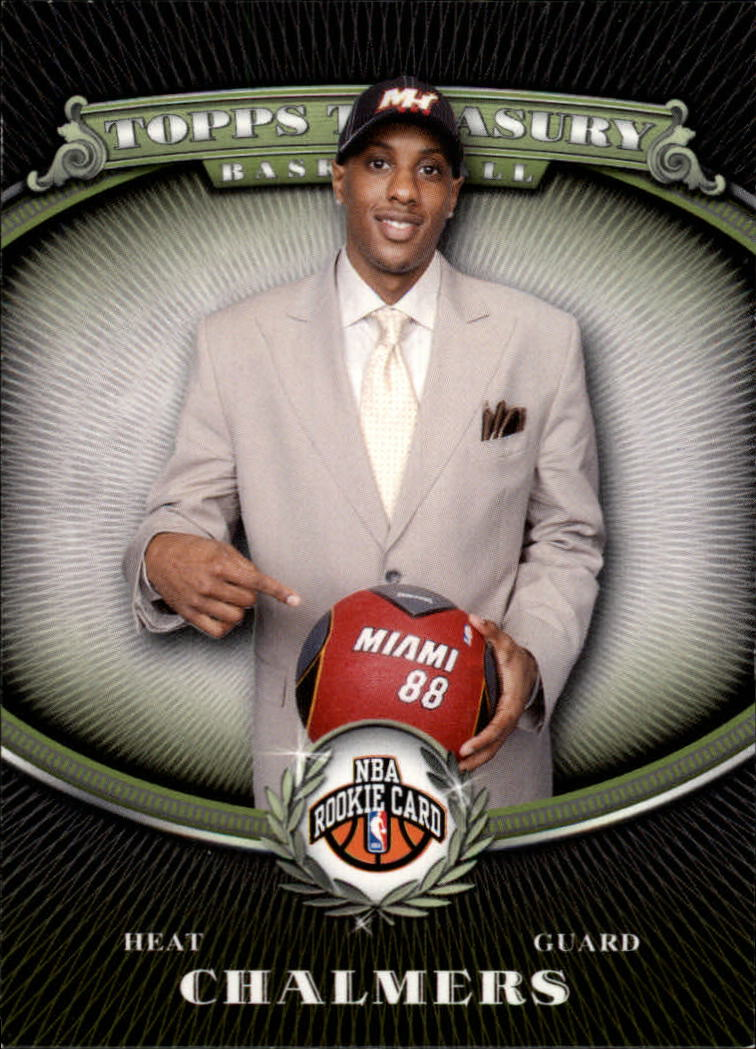 2008-09 Topps Treasury #118 Mario Chalmers RC
