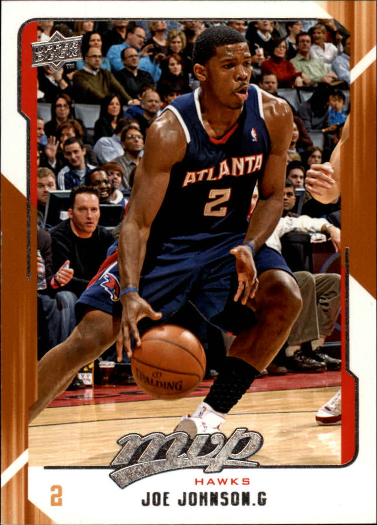2008-09 Upper Deck MVP #1 Joe Johnson