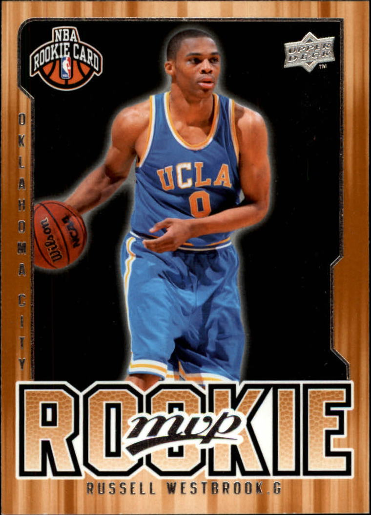 2008-09 Upper Deck MVP #204 Russell Westbrook RC