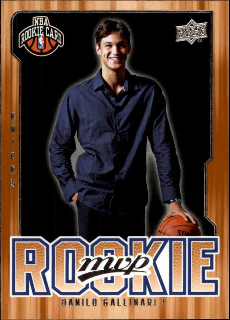 2008-09 Upper Deck MVP #206 Danilo Gallinari RC