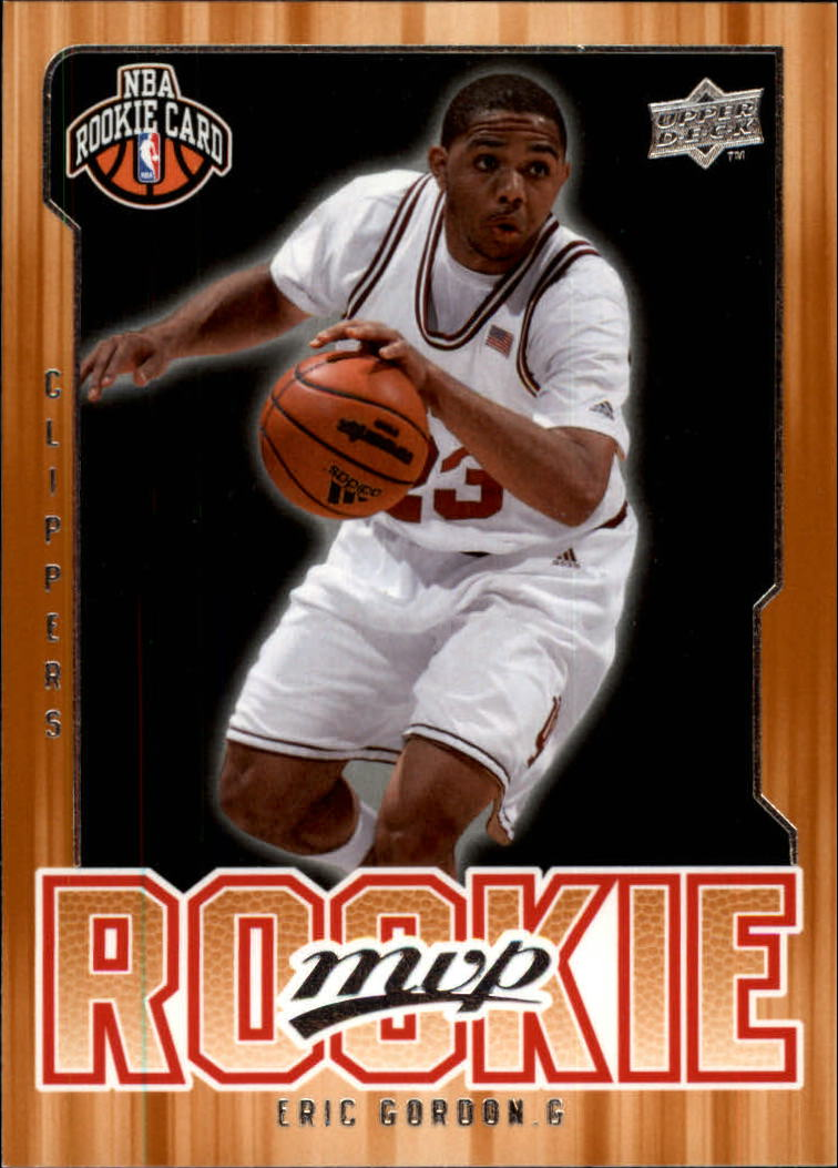2008-09 Upper Deck MVP #207 Eric Gordon RC