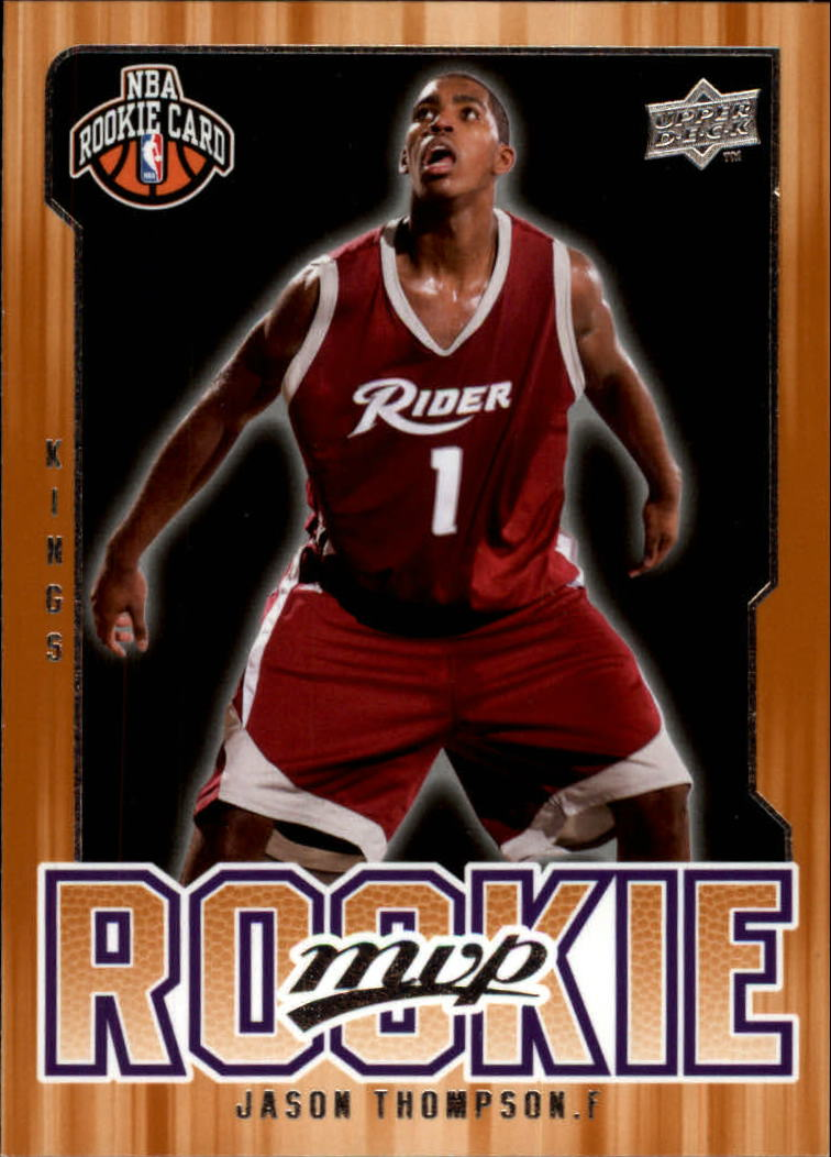 2008-09 Upper Deck MVP #212 Jason Thompson RC