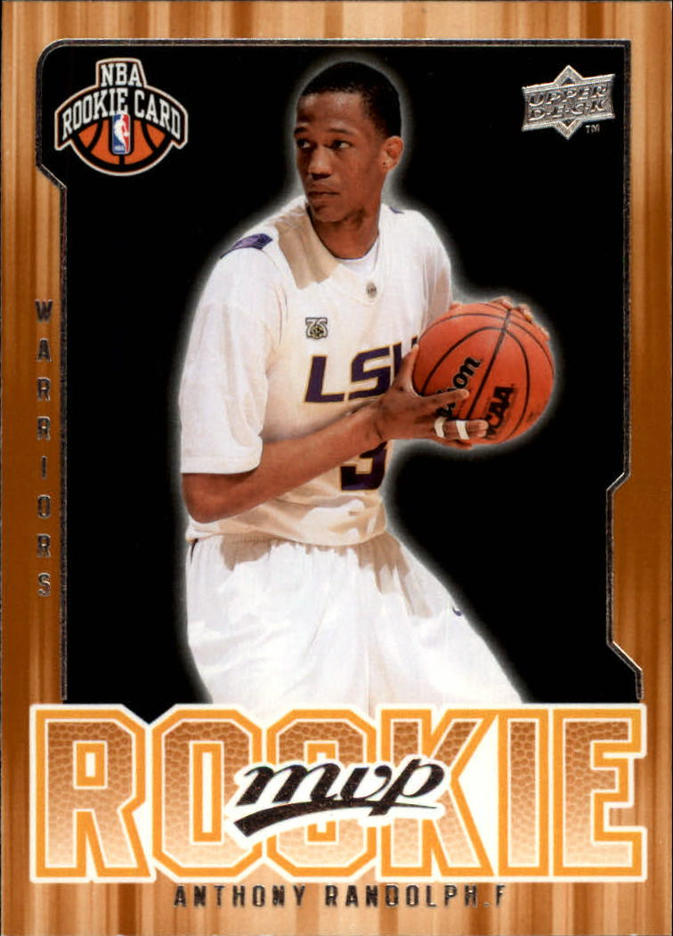 2008-09 Upper Deck MVP #214 Anthony Randolph RC