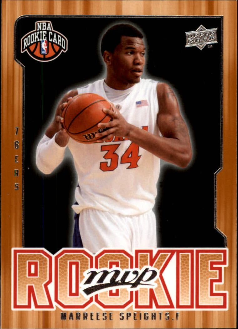 2008-09 Upper Deck MVP #216 Marreese Speights RC