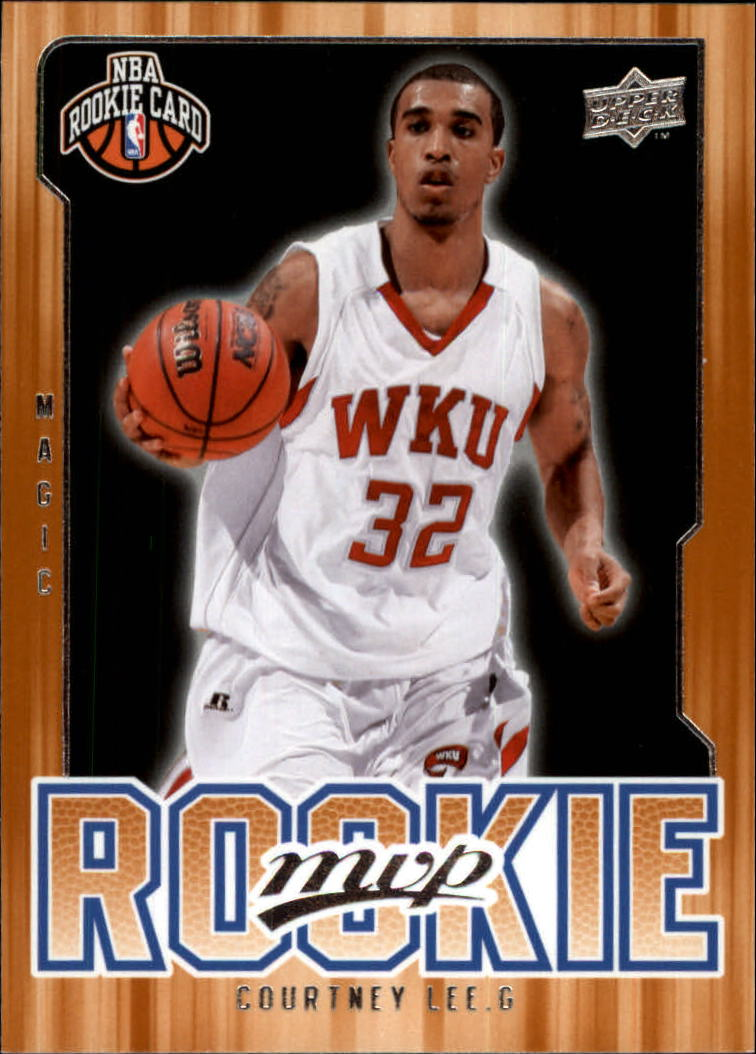 2008-09 Upper Deck MVP #218 Courtney Lee RC