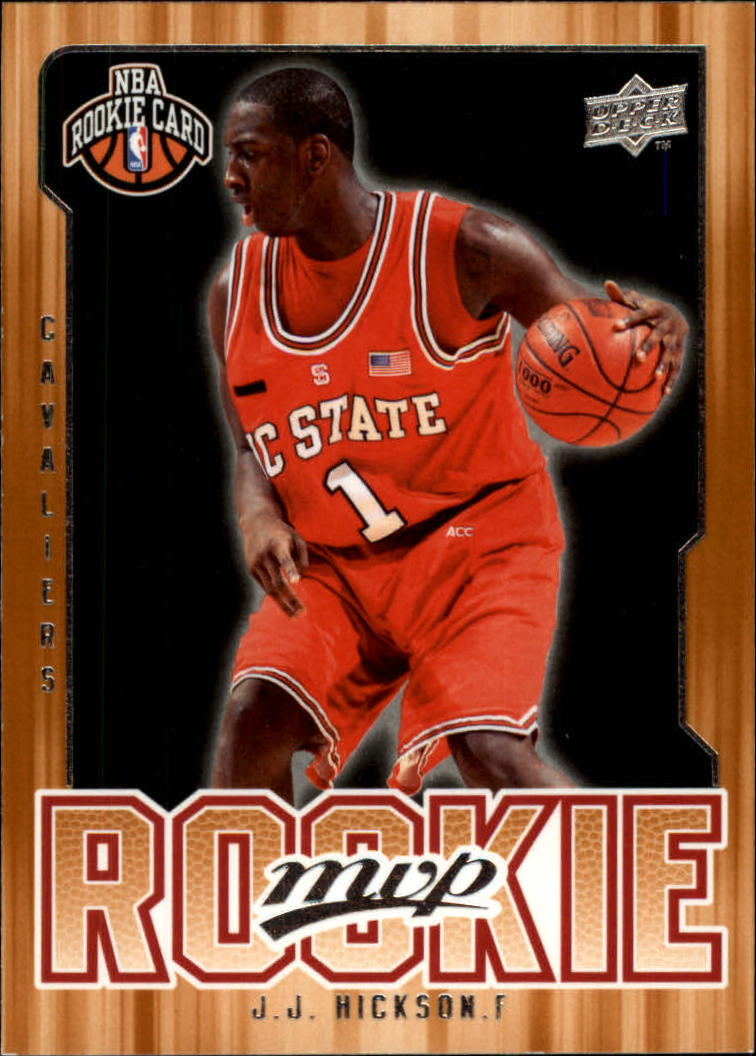 2008-09 Upper Deck MVP #219 J.J. Hickson RC