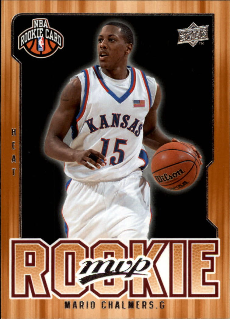 2008-09 Upper Deck MVP #229 Mario Chalmers RC