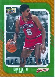 2008-09 Upper Deck MVP #257 Julius Erving