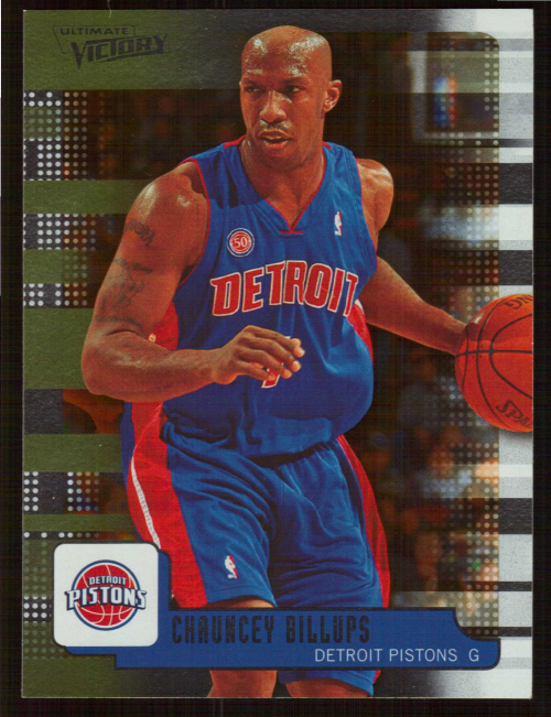 2008-09 Upper Deck MVP Ultimate Victory #15 Chauncey Billups