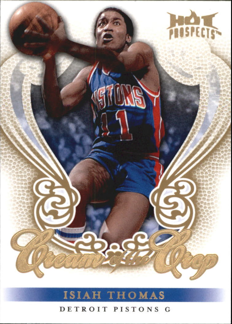 2008-09 Hot Prospects Cream of the Crop #CC26 Isiah Thomas