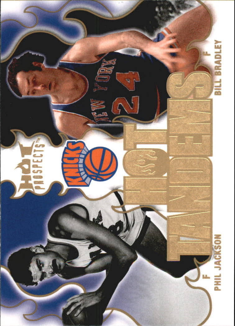 2008-09 Hot Prospects Hot Tandems #HT13 Phil Jackson/Bill Bradley