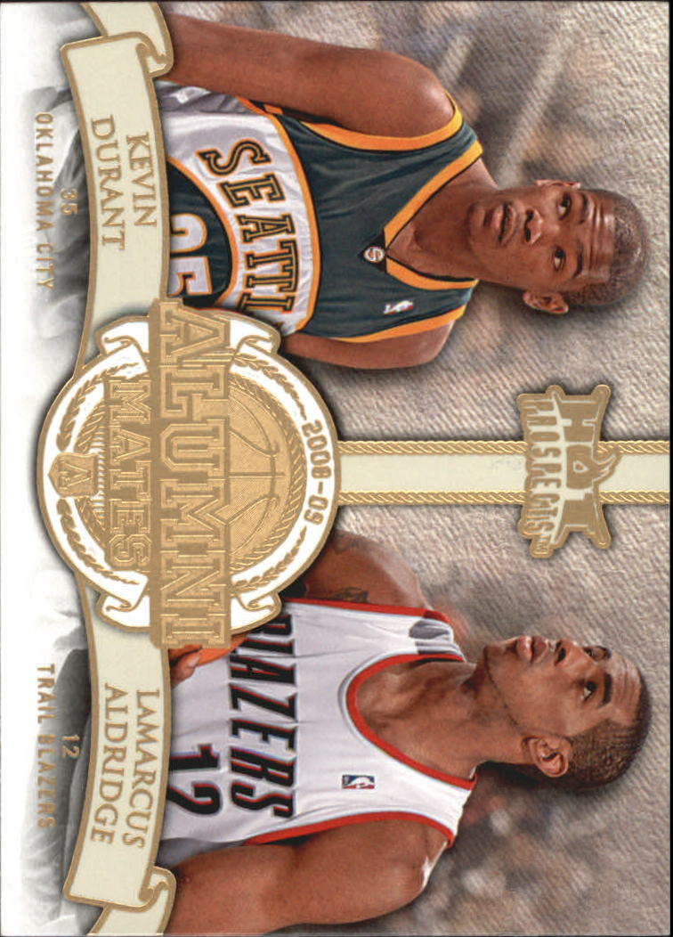2008-09 Hot Prospects Alumni Mates #AM15 Kevin Durant/LaMarcus Aldridge