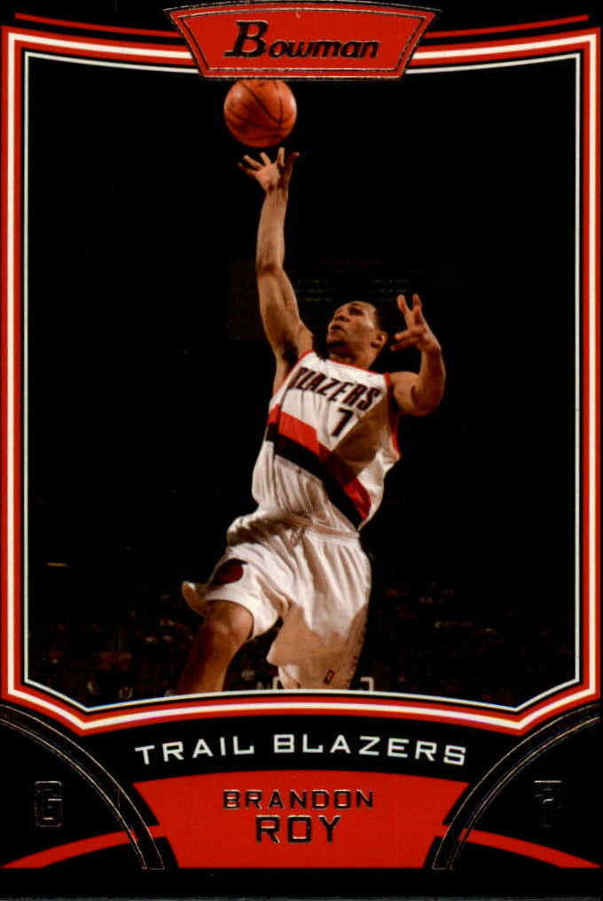 2008-09 Bowman #25 Brandon Roy