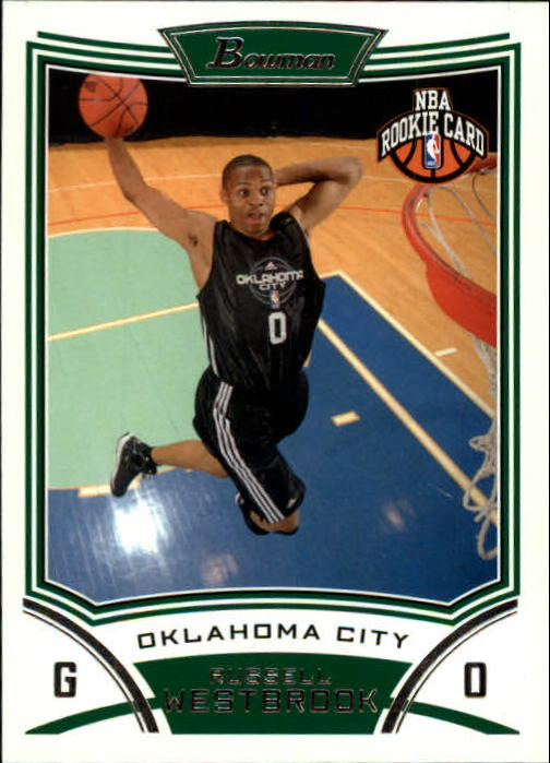2008-09 Bowman #114 Russell Westbrook RC