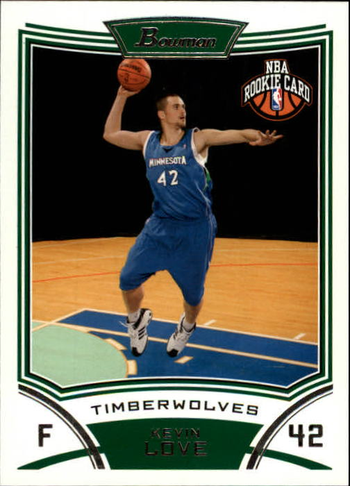 2008-09 Bowman #115 Kevin Love RC