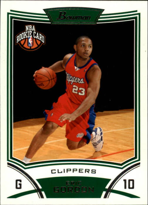 2008-09 Bowman #117 Eric Gordon RC
