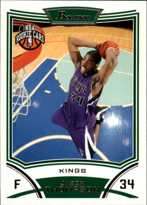 2008-09 Bowman #122 Jason Thompson RC