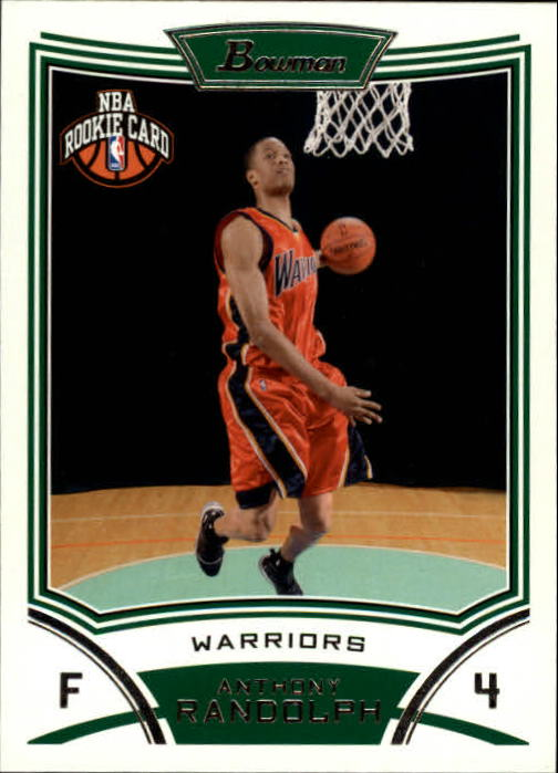 2008-09 Bowman #123 Anthony Randolph RC