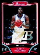 2008-09 Bowman Relics #BRDHO Dwight Howard