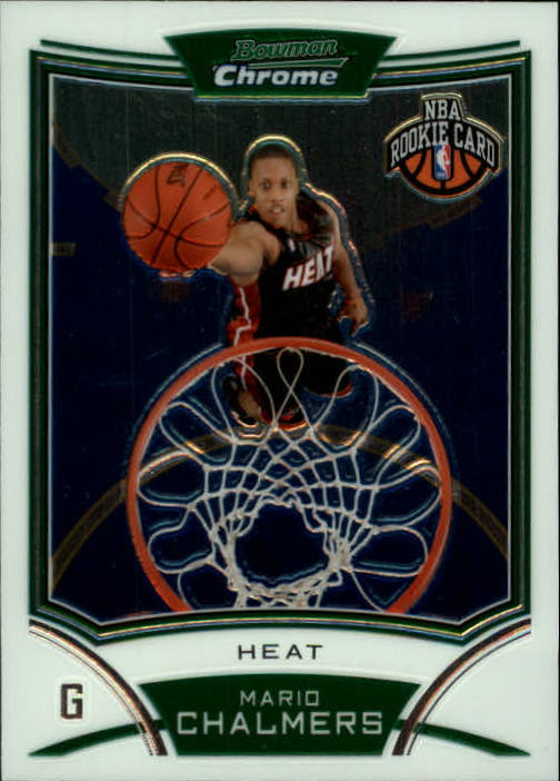 2008-09 Bowman Chrome #138 Mario Chalmers RC