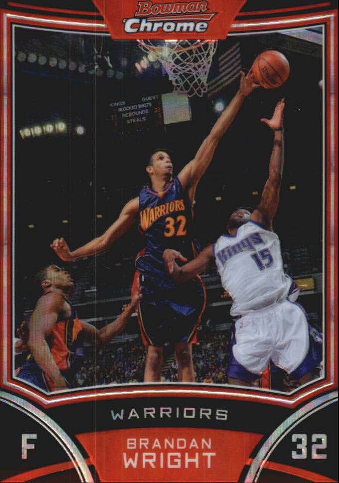 2008-09 Bowman Chrome X-Fractors #31 Brandan Wright