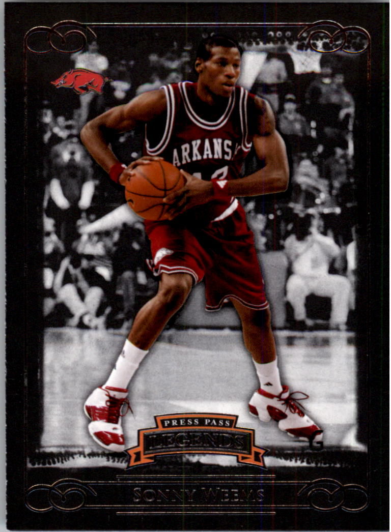 2008-09 Press Pass Legends #2 Sonny Weems