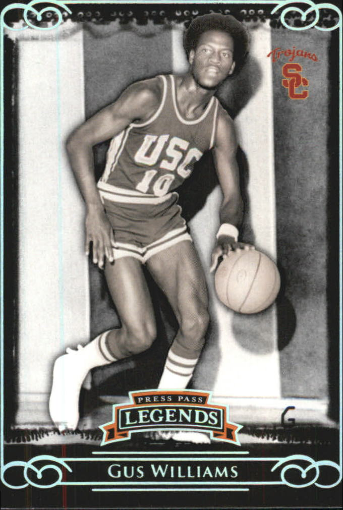 2008-09 Press Pass Legends Silver #68 Gus Williams