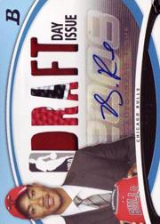 2008-09 Bowman Draft Day Issue Relics Combos Autographs Blue #DDICADR Derrick Rose