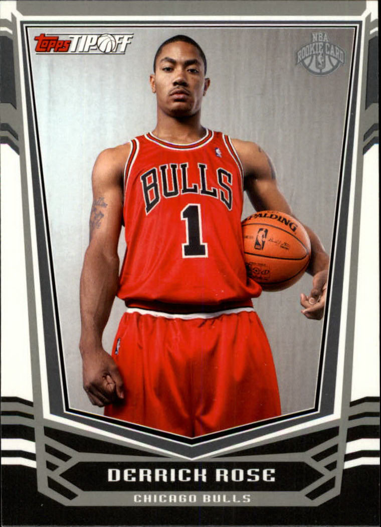2008-09 Topps Tip-Off #111 Derrick Rose RC
