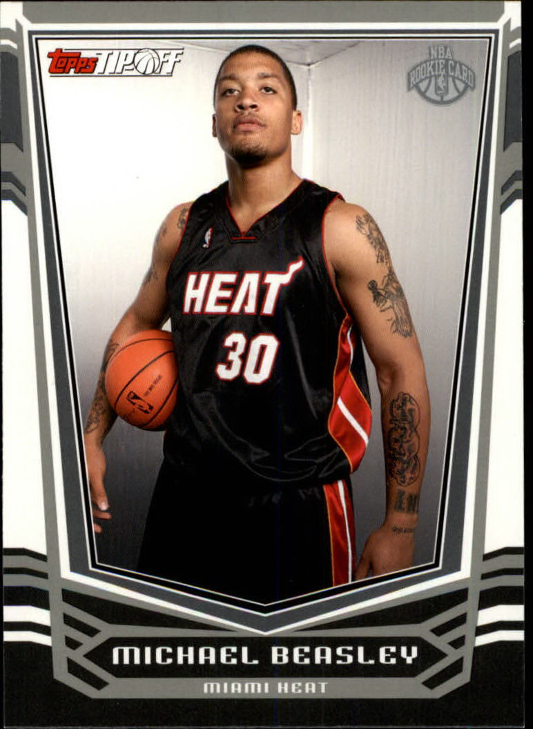 2008-09 Topps Tip-Off #112 Michael Beasley RC