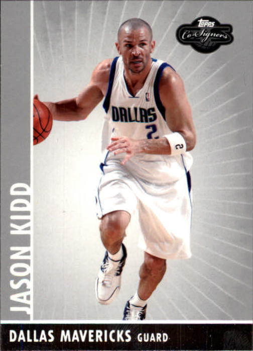 2008-09 Topps Co-Signers #2 Jason Kidd