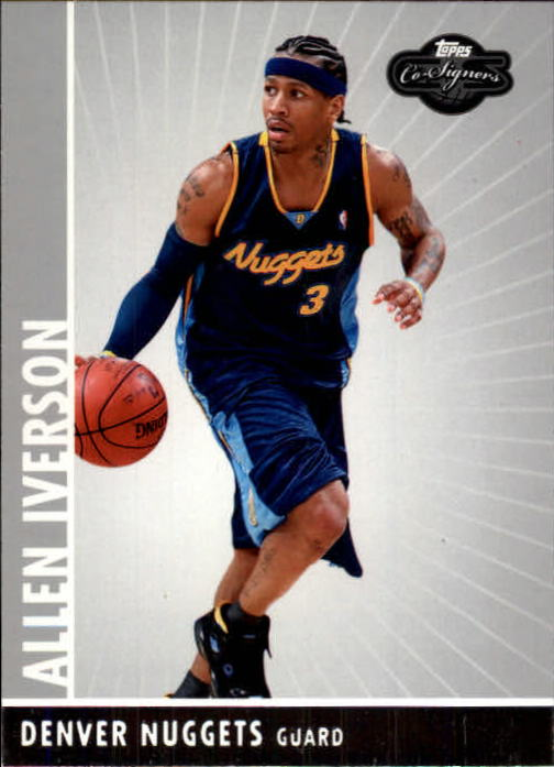 2008-09 Topps Co-Signers #3 Allen Iverson