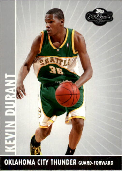 2008-09 Topps Co-Signers #35 Kevin Durant