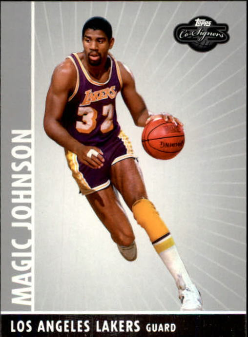 2008-09 Topps Co-Signers #100 Magic Johnson