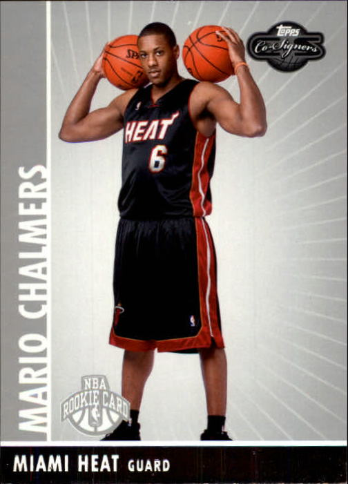 2008-09 Topps Co-Signers #128 Mario Chalmers RC