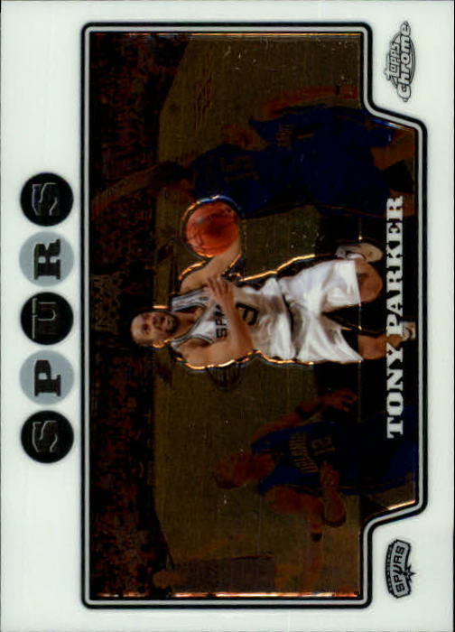 2008-09 Topps Chrome #9 Tony Parker