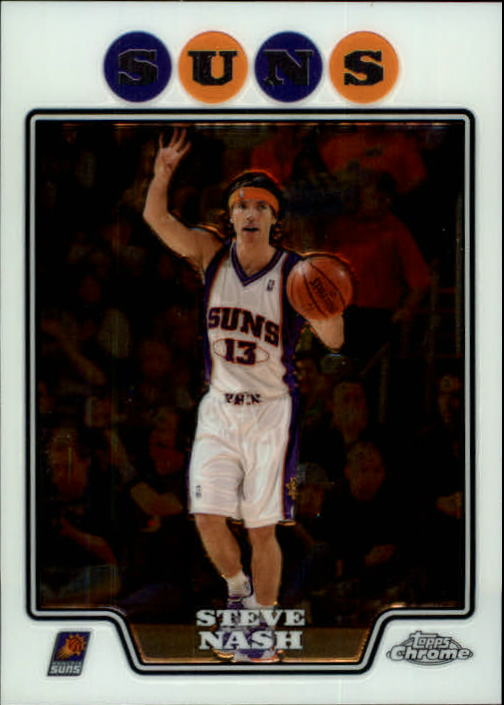 2008-09 Topps Chrome #13 Steve Nash