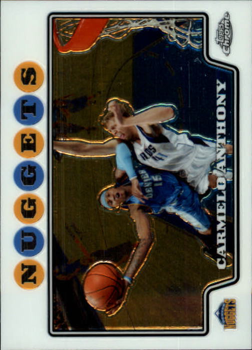 2008-09 Topps Chrome #15 Carmelo Anthony