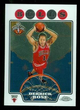 2008-09 Topps Chrome #181 Derrick Rose RC