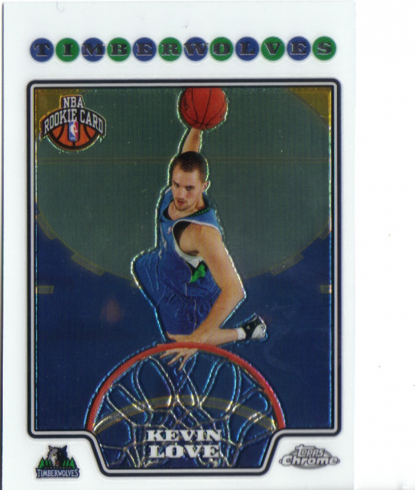 2008-09 Topps Chrome #185 Kevin Love RC