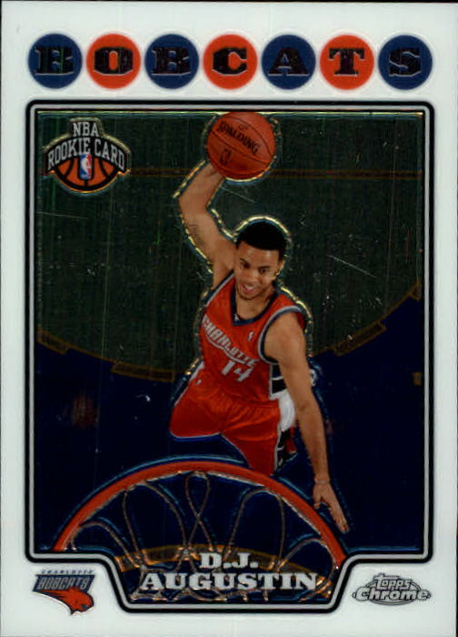 2008-09 Topps Chrome #189 D.J. Augustin RC