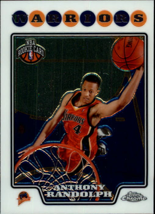 2008-09 Topps Chrome #193 Anthony Randolph RC