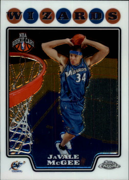 2008-09 Topps Chrome #197 JaVale McGee RC