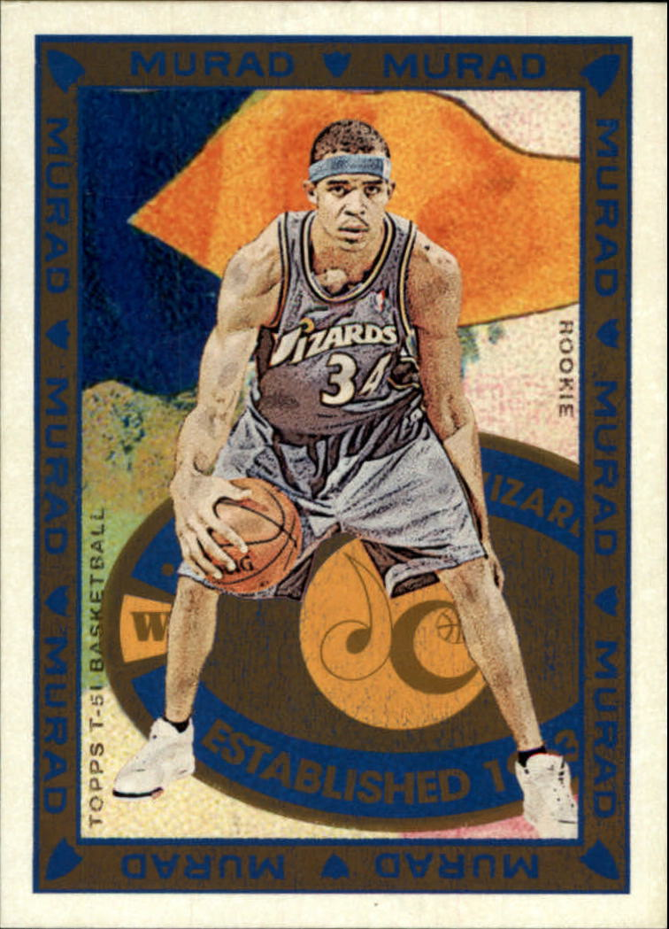 2008-09 Topps T51 Murad #187 JaVale McGee RC
