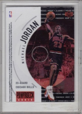 1997-98 Upper Deck Powerdeck #NNO Michael Jordan Audio Ad