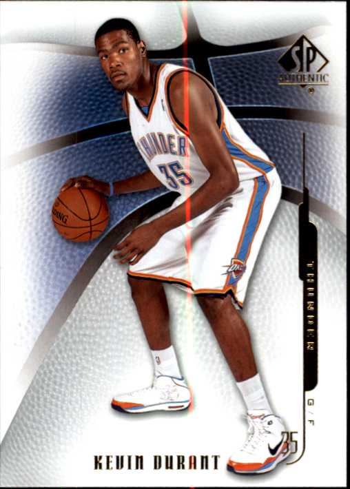 2008-09 SP Authentic #4 Kevin Durant