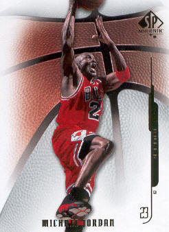 2008-09 SP Authentic #29 Michael Jordan