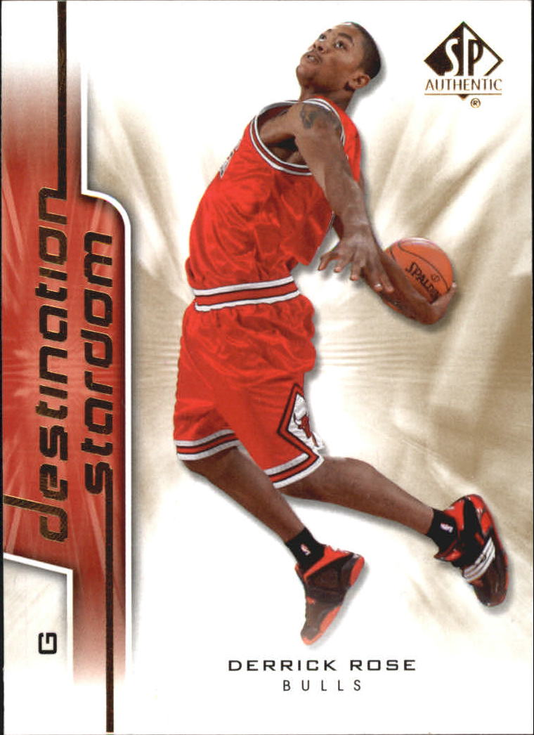 2008-09 SP Authentic Destination Stardom #DS1 Derrick Rose
