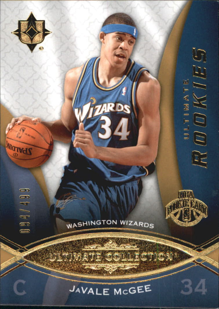 2008-09 Ultimate Collection #89 Javale McGee RC
